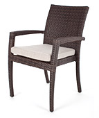 Outdoor wicker chairs available