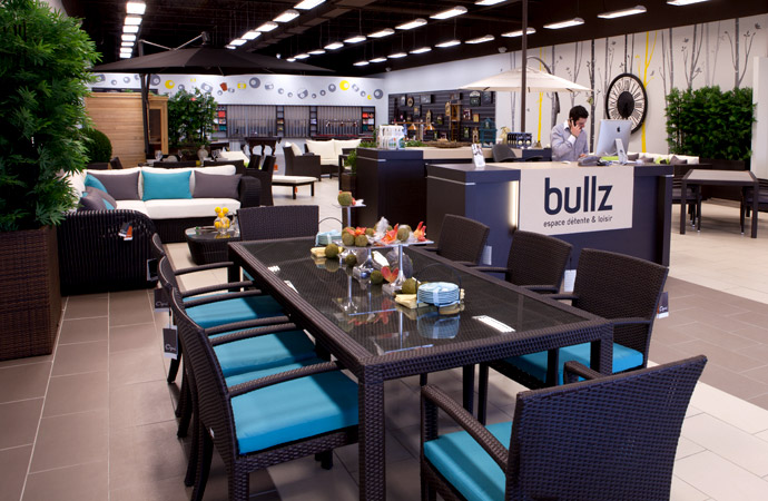 Magasins bullz tables de billard mobilier de jardin for Meuble patio