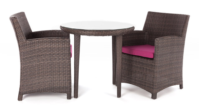 The 2 Person Bistro Table Set Is A Strikingly Modern Outdoor Table. Weather  And Wear Proof, This Table Is Great For A Tête à Tête Or Simply To Sit Back  And ...
