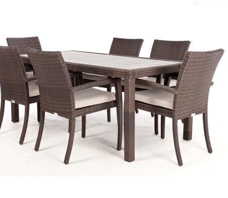 Ciro Rectangular Dining Table for 6 (Wood Composite)