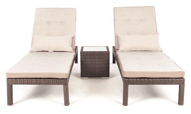 Chaise longue flora pour bord de la piscine patio ou jardin for Acheter chaise longue jardin