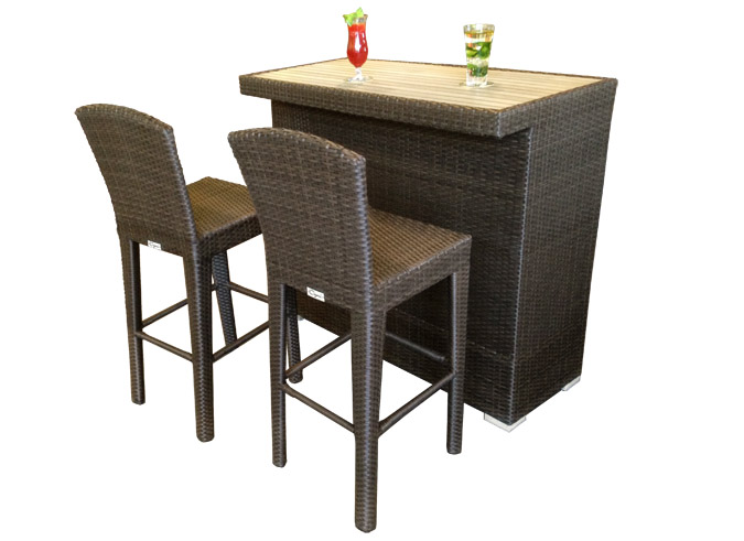 table de bar de jardin martini. Black Bedroom Furniture Sets. Home Design Ideas